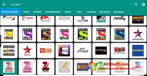 Снимка на екрана Net TV за Windows 10