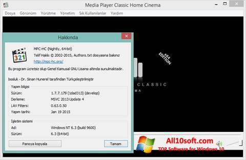 Снимка на екрана K-Lite Codec Pack за Windows 10
