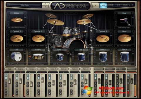 Снимка на екрана Addictive Drums за Windows 10