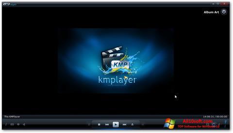 Снимка на екрана KMPlayer за Windows 10