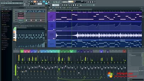 Снимка на екрана FL Studio за Windows 10