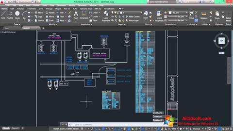 Снимка на екрана AutoCAD Electrical за Windows 10