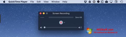 Снимка на екрана QuickTime за Windows 10
