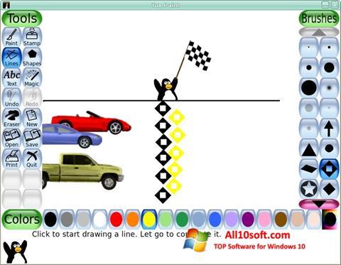 Снимка на екрана Tux Paint за Windows 10