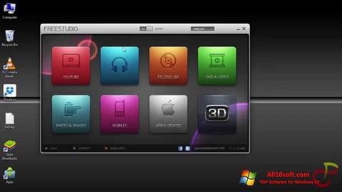 Снимка на екрана Free Studio за Windows 10