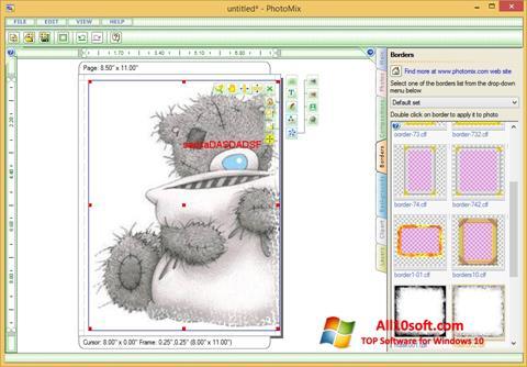 Снимка на екрана PhotoMix Collage за Windows 10