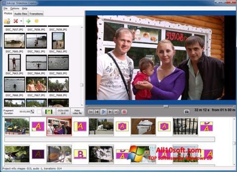 Снимка на екрана Bolide Slideshow Creator за Windows 10