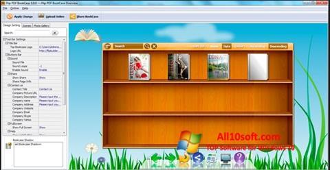 Снимка на екрана Bookshelf за Windows 10