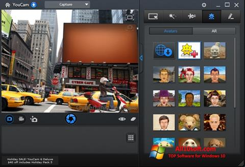 Снимка на екрана CyberLink YouCam за Windows 10