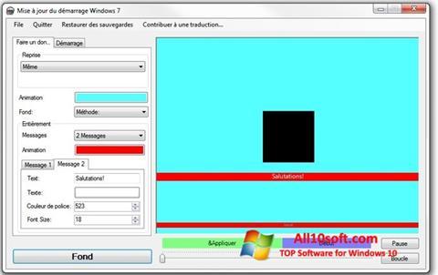 Снимка на екрана Boot Updater за Windows 10