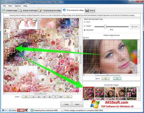 Снимка на екрана Photo Collage Maker за Windows 10