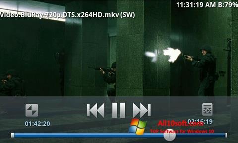 Снимка на екрана BSPlayer за Windows 10
