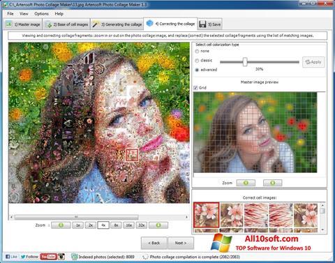 Снимка на екрана Photo Collage за Windows 10