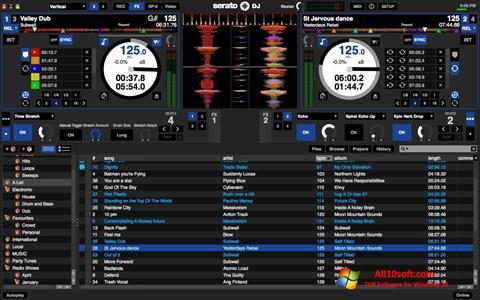 Снимка на екрана Serato DJ за Windows 10