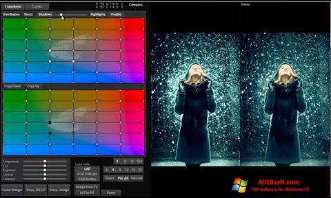 Снимка на екрана 3D LUT Creator за Windows 10