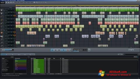 Снимка на екрана MAGIX Music Maker за Windows 10