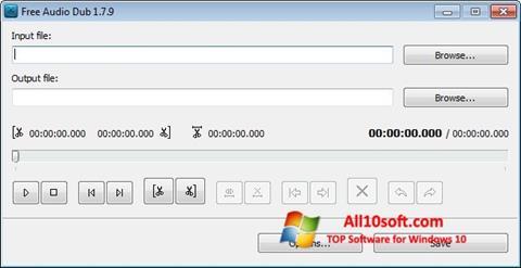 Снимка на екрана Free Audio Dub за Windows 10