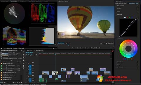 Снимка на екрана Adobe Premiere Pro CC за Windows 10