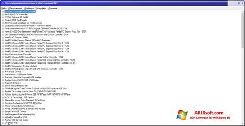 Снимка на екрана Unknown Device Identifier за Windows 10