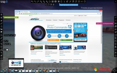 Снимка на екрана Ashampoo Snap за Windows 10