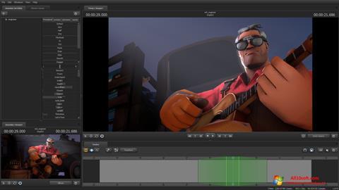 Снимка на екрана Source Filmmaker за Windows 10