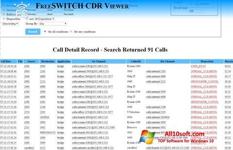 Снимка на екрана CDR Viewer за Windows 10