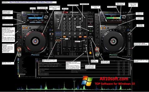 Снимка на екрана Virtual DJ за Windows 10